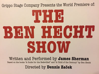 text reading The Ben Hecht Show