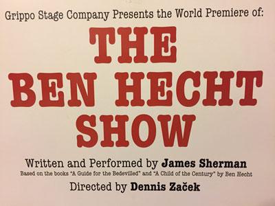 text reading The Ben Hecht Show